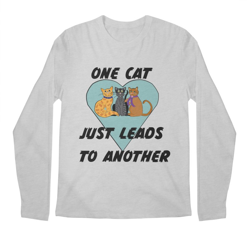 Cat Lovers Men's Regular Longsleeve T-Shirt by The Gear Shop