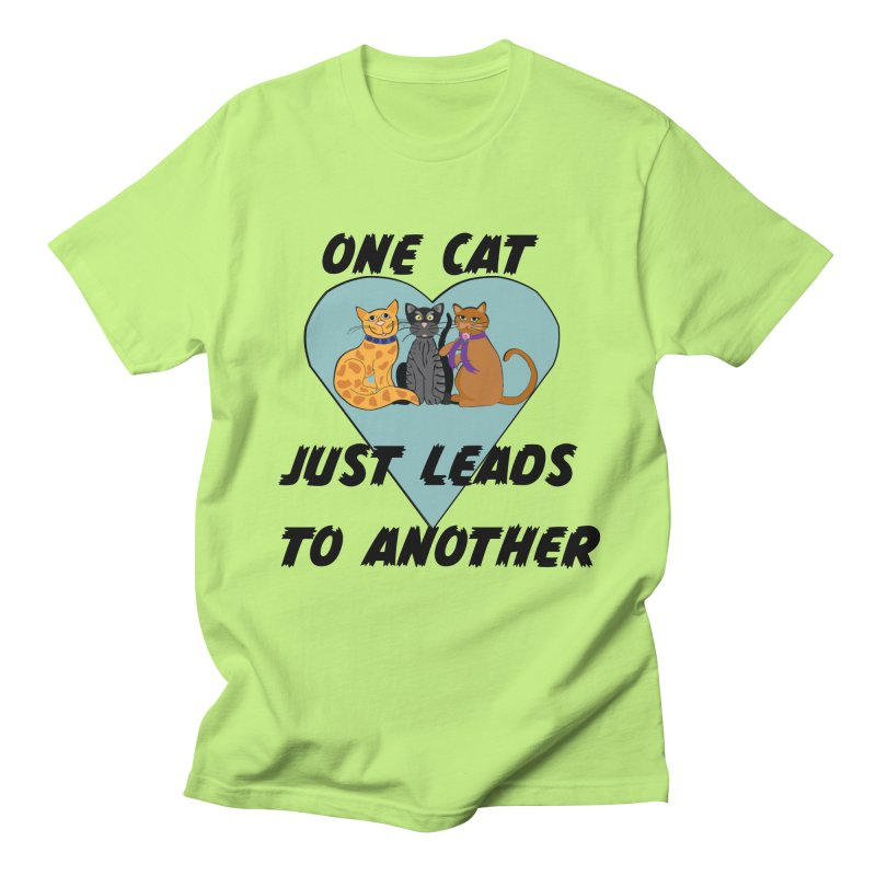 Cat Lovers Women's Regular Unisex T-Shirt by The Gear Shop
