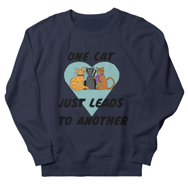 Cat Lovers Men's French Terry Sweatshirt by The Gear Shop