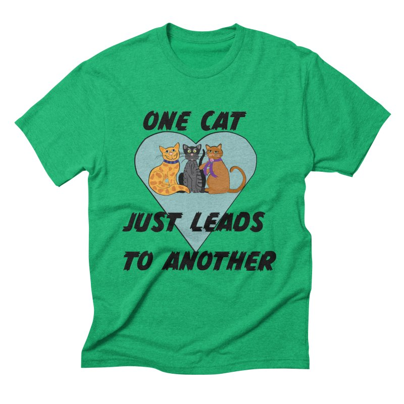 Cat Lovers Men's Triblend T-Shirt by The Gear Shop