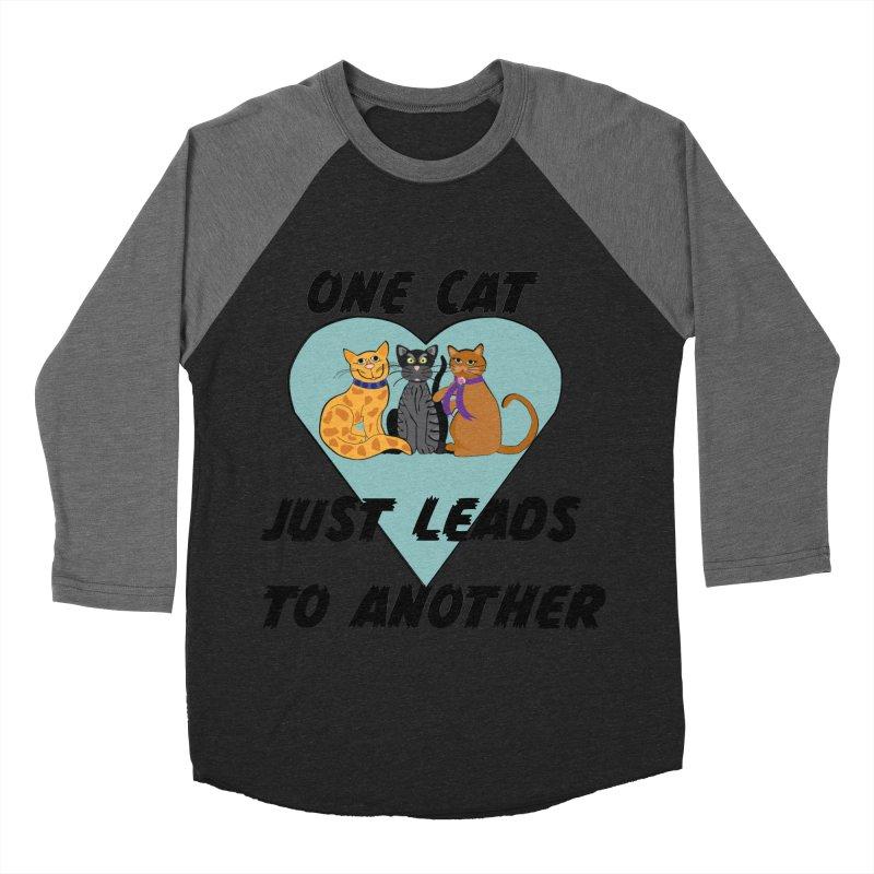 Cat Lovers Women's Baseball Triblend Longsleeve T-Shirt by The Gear Shop