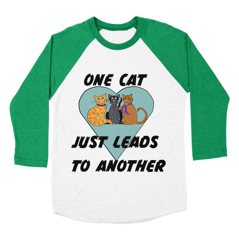 Cat Lovers Men's Baseball Triblend Longsleeve T-Shirt by The Gear Shop