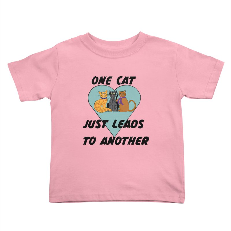 Cat Lovers Kids Toddler T-Shirt by The Gear Shop