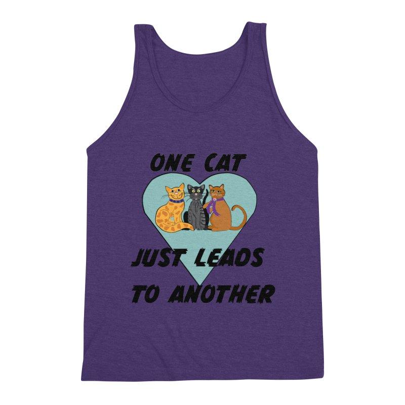 Cat Lovers Men's Triblend Tank by The Gear Shop