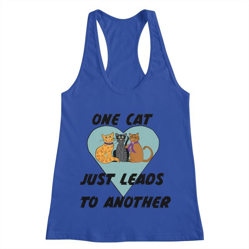 Cat Lovers Women's Racerback Tank by The Gear Shop