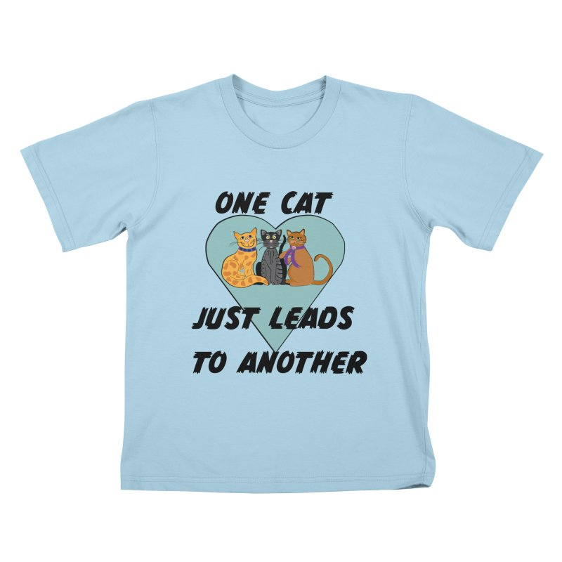 Cat Lovers Kids T-Shirt by The Gear Shop
