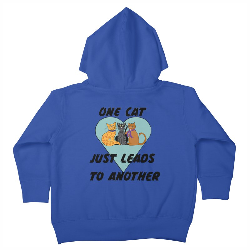 Cat Lovers Kids Toddler Zip-Up Hoody by The Gear Shop