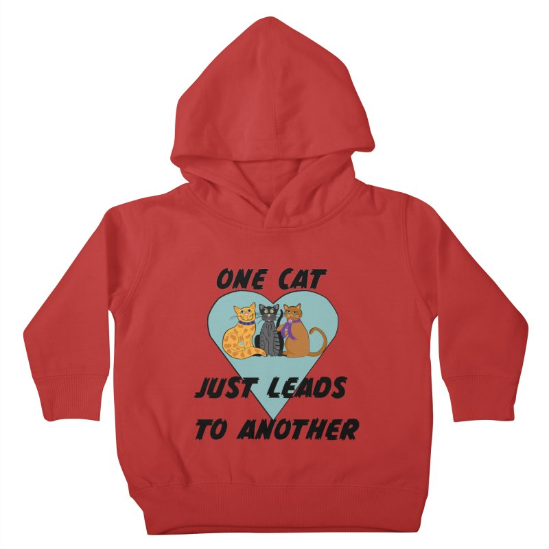 Cat Lovers Kids Toddler Pullover Hoody by The Gear Shop
