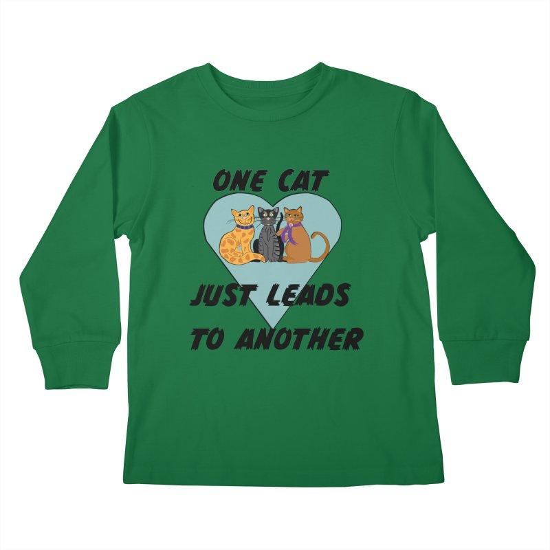 Cat Lovers Kids Longsleeve T-Shirt by The Gear Shop
