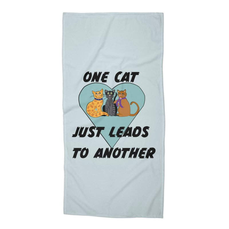 Cat Lovers Accessories Beach Towel by The Gear Shop
