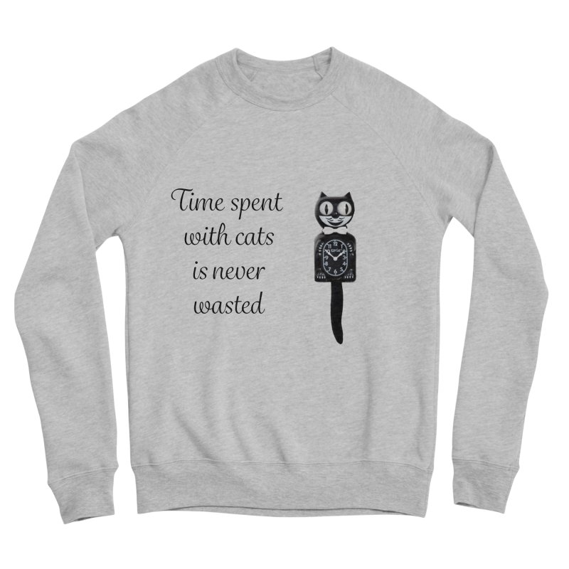 Cat Time Out Women's Sponge Fleece Sweatshirt by The Gear Shop