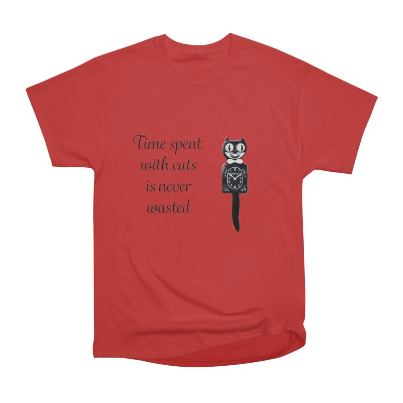 Cat Time Out Women's Heavyweight Unisex T-Shirt by The Gear Shop