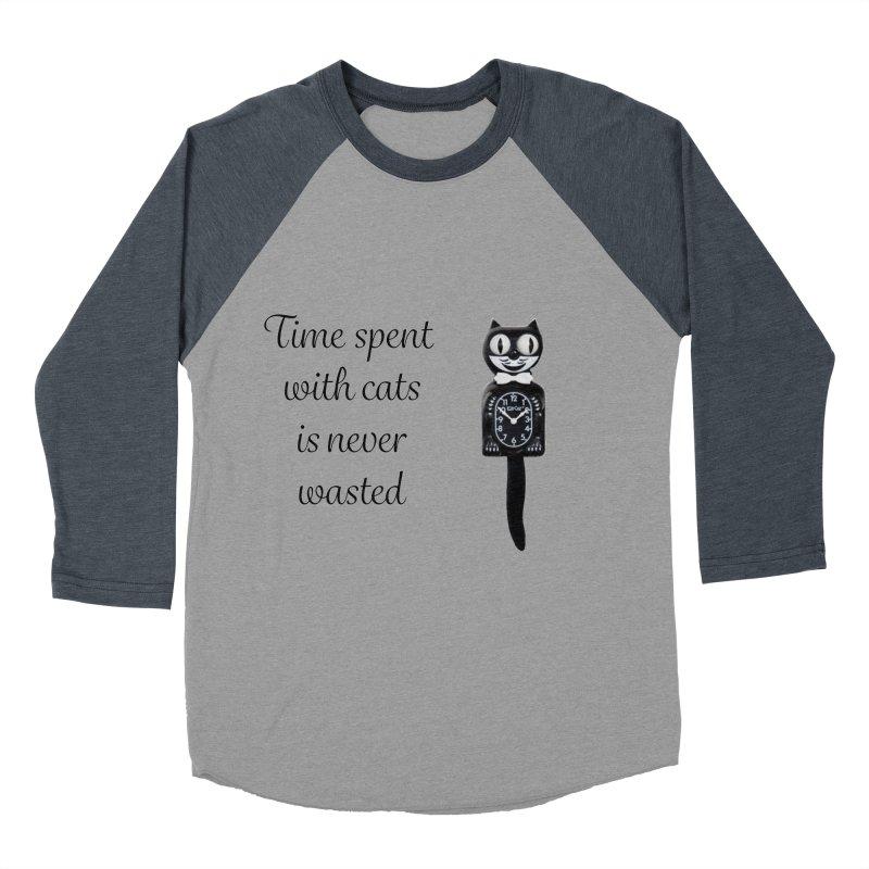 Cat Time Out Women's Baseball Triblend Longsleeve T-Shirt by The Gear Shop