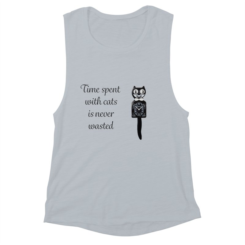 Cat Time Out Women's Muscle Tank by The Gear Shop