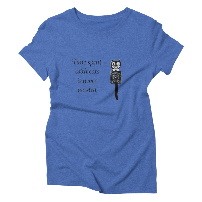 Cat Time Out Women's Triblend T-Shirt by The Gear Shop