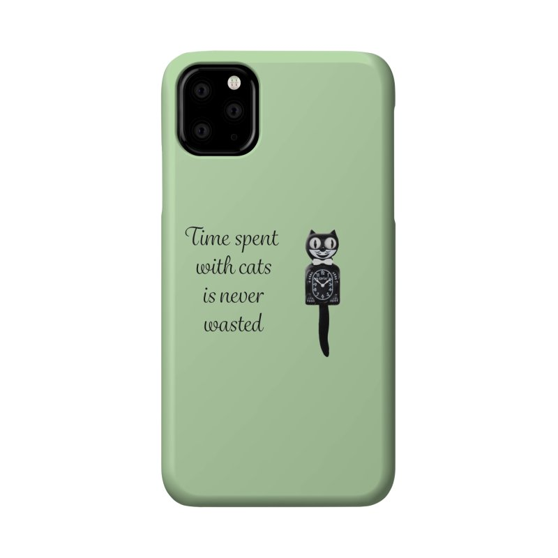 Cat Time Out Accessories Phone Case by The Gear Shop
