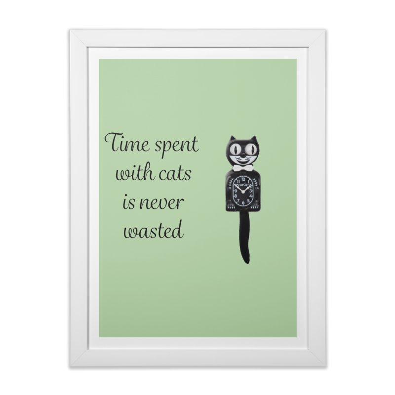 Cat Time Out Home Framed Fine Art Print by The Gear Shop
