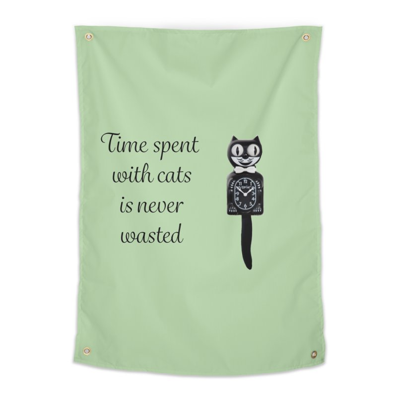 Cat Time Out Home Tapestry by The Gear Shop