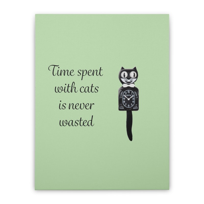 Cat Time Out Home Stretched Canvas by The Gear Shop