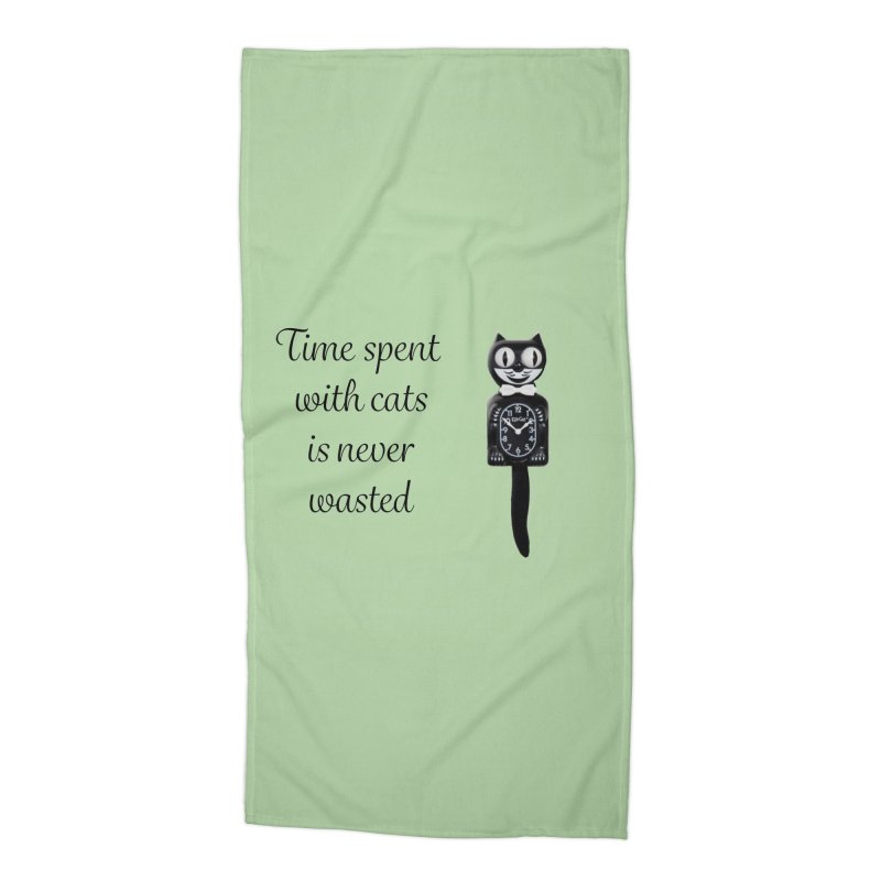 Cat Time Out Accessories Beach Towel by The Gear Shop