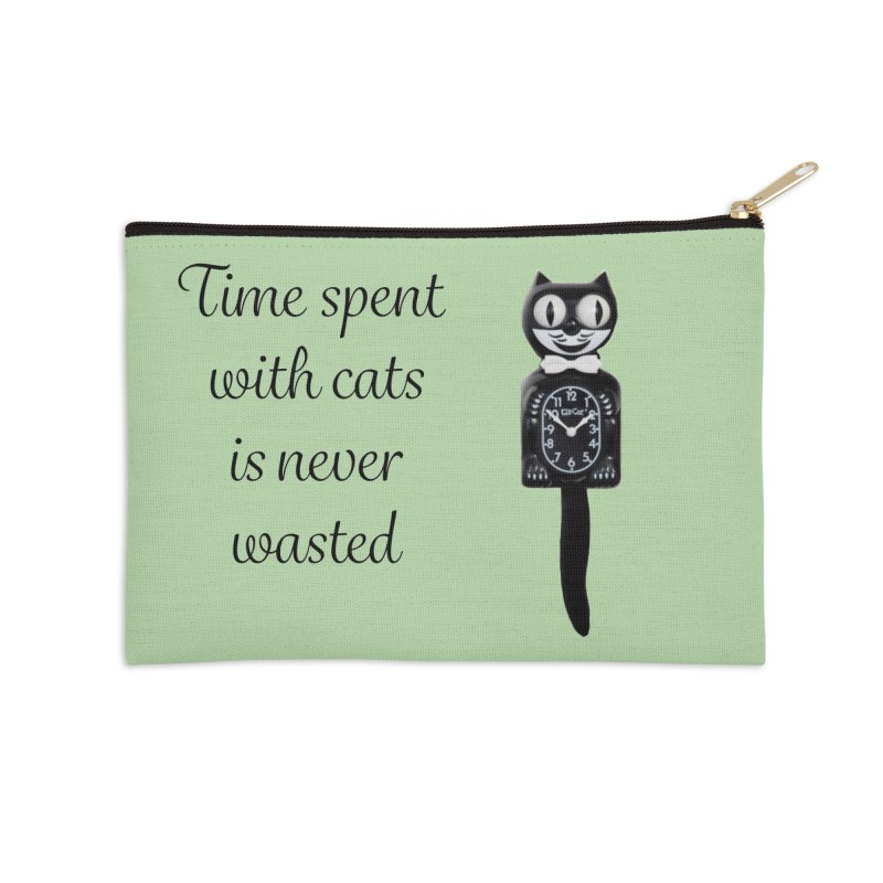 Cat Time Out Accessories Zip Pouch by The Gear Shop