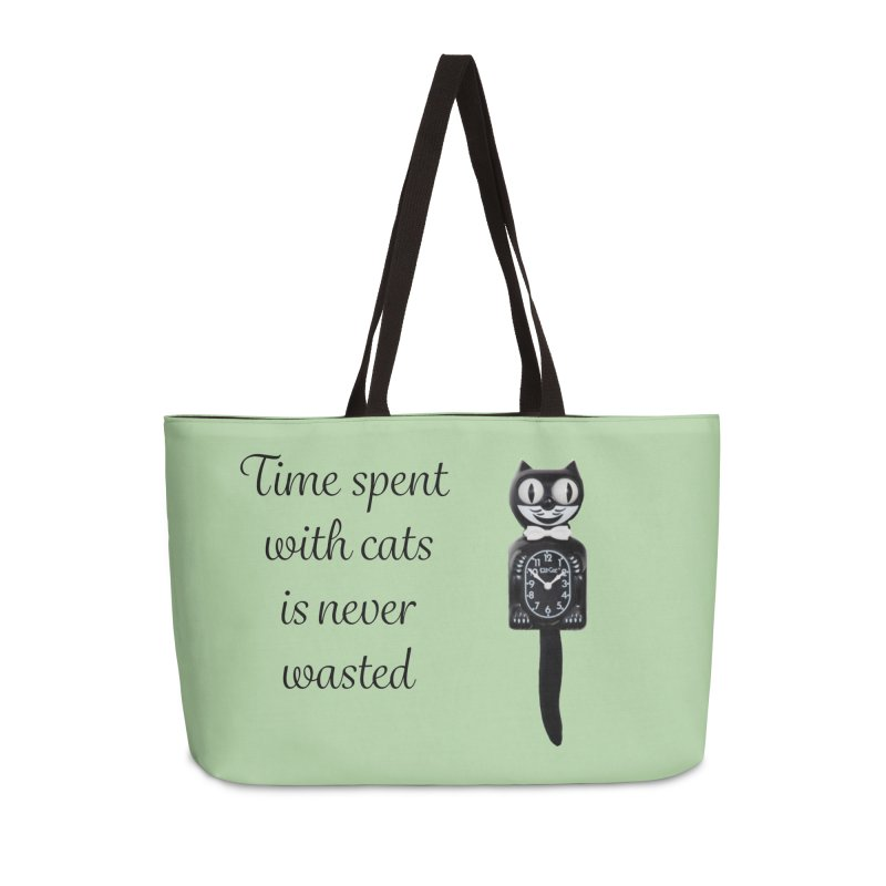Cat Time Out Accessories Weekender Bag Bag by The Gear Shop