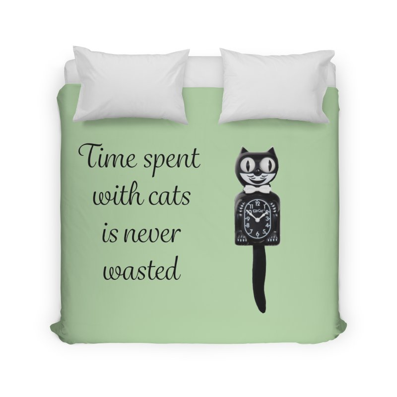 Cat Time Out Home Duvet by The Gear Shop