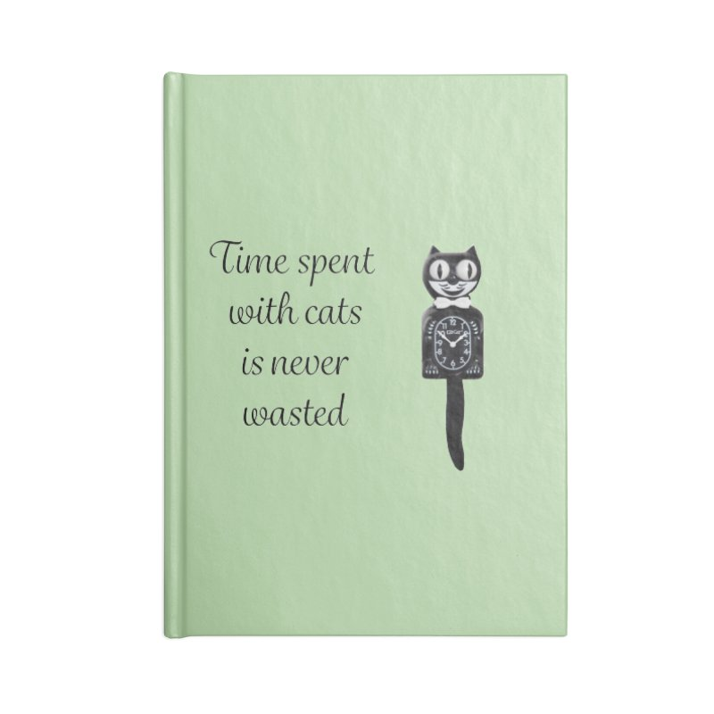 Cat Time Out Accessories Blank Journal Notebook by The Gear Shop