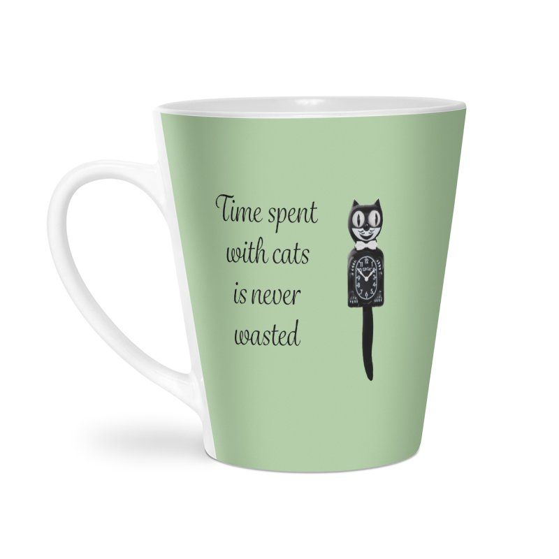 Cat Time Out Accessories Latte Mug by The Gear Shop