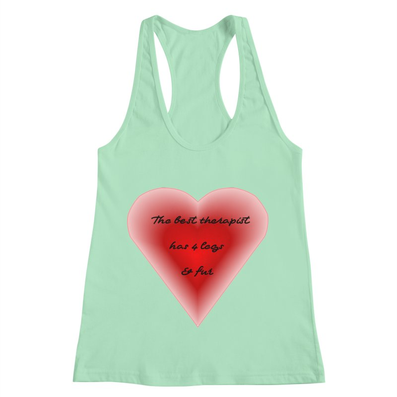 Therapist needed.  Here's the best. Women's Racerback Tank by The Gear Shop