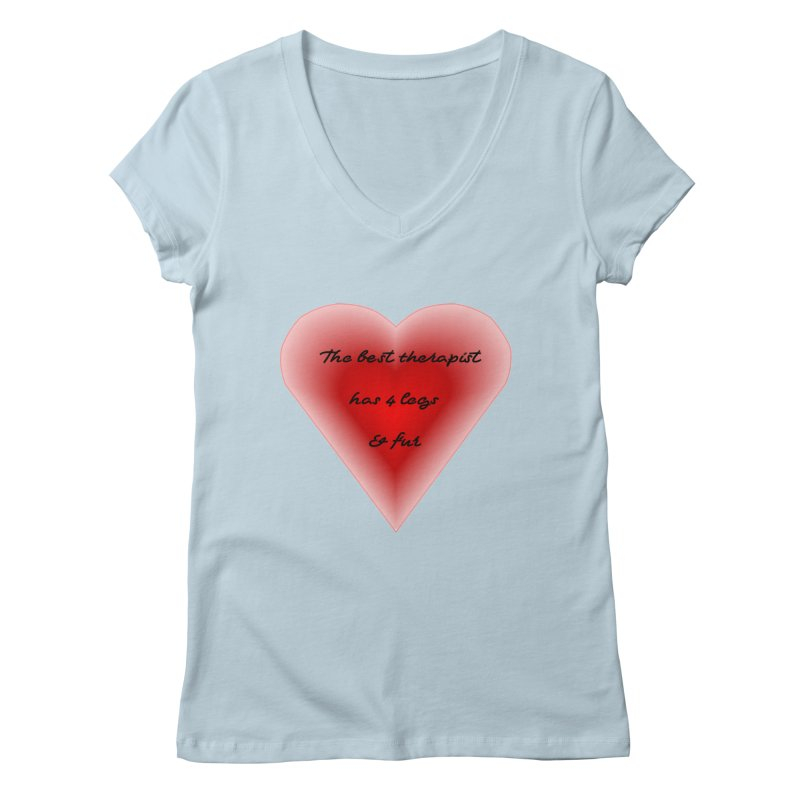 Therapist needed.  Here's the best. Women's Regular V-Neck by The Gear Shop