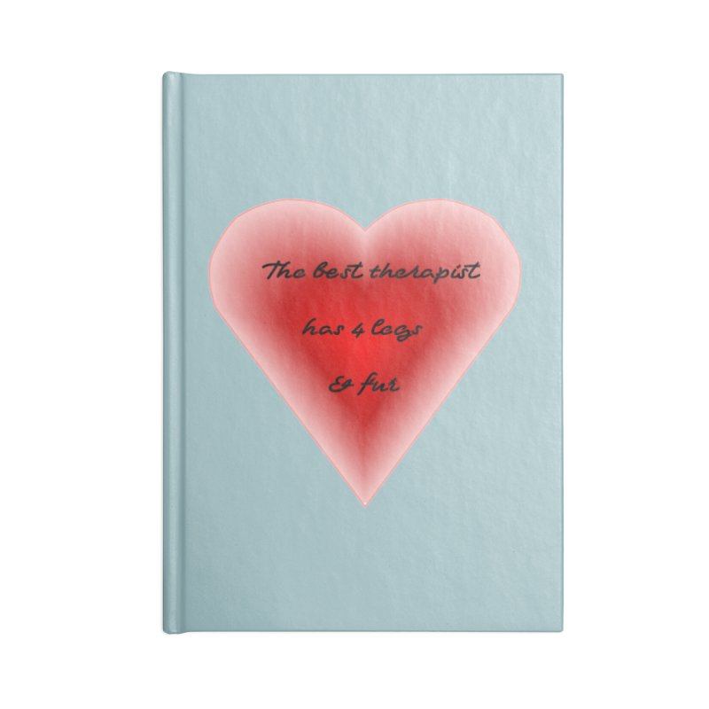 Therapist needed.  Here's the best. Accessories Blank Journal Notebook by The Gear Shop