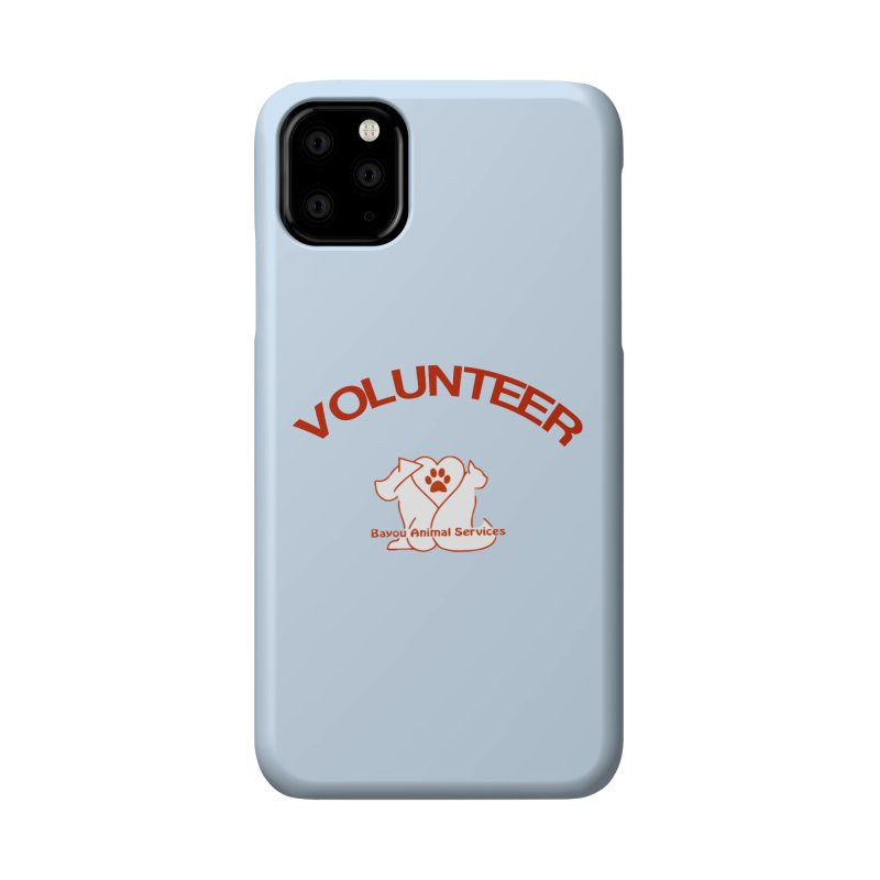 Volunteer  (BAS  volunteer shirts only.  NOT AVAILABLE TO PUBLIC) Accessories Phone Case by The Gear Shop