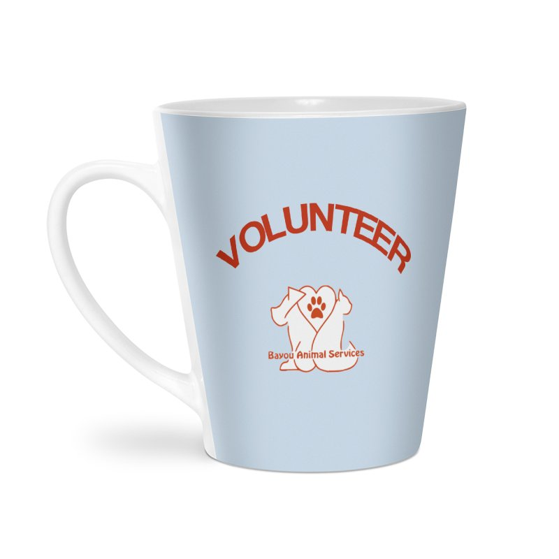 Volunteer  (BAS  volunteer shirts only.  NOT AVAILABLE TO PUBLIC) Accessories Latte Mug by The Gear Shop