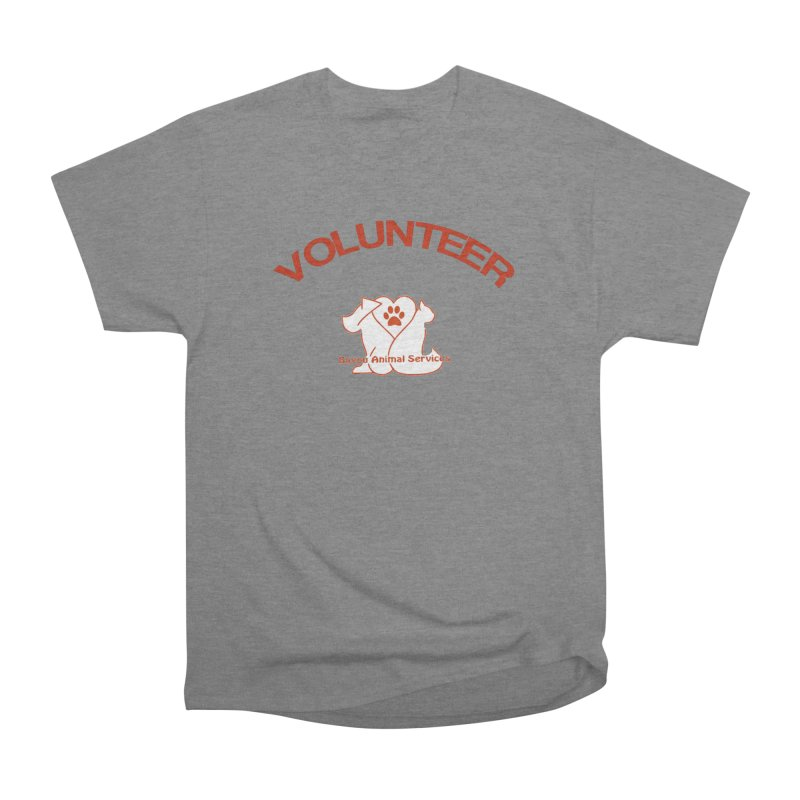 Volunteer  (BAS  volunteer shirts only.  NOT AVAILABLE TO PUBLIC) Men's Heavyweight T-Shirt by The Gear Shop