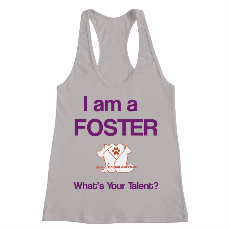 Foster (Available to approved BAS fosters only) Women's Racerback Tank by The Gear Shop