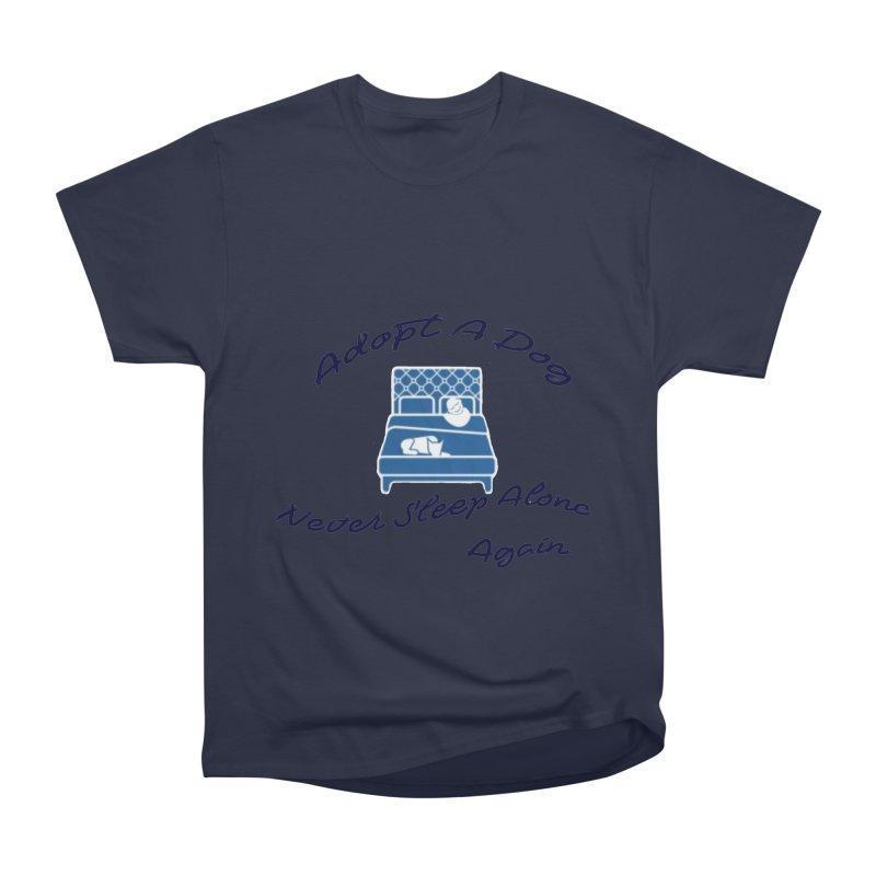 Never sleep alone Men's Heavyweight T-Shirt by The Gear Shop