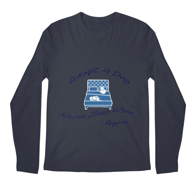 Never sleep alone Men's Regular Longsleeve T-Shirt by The Gear Shop