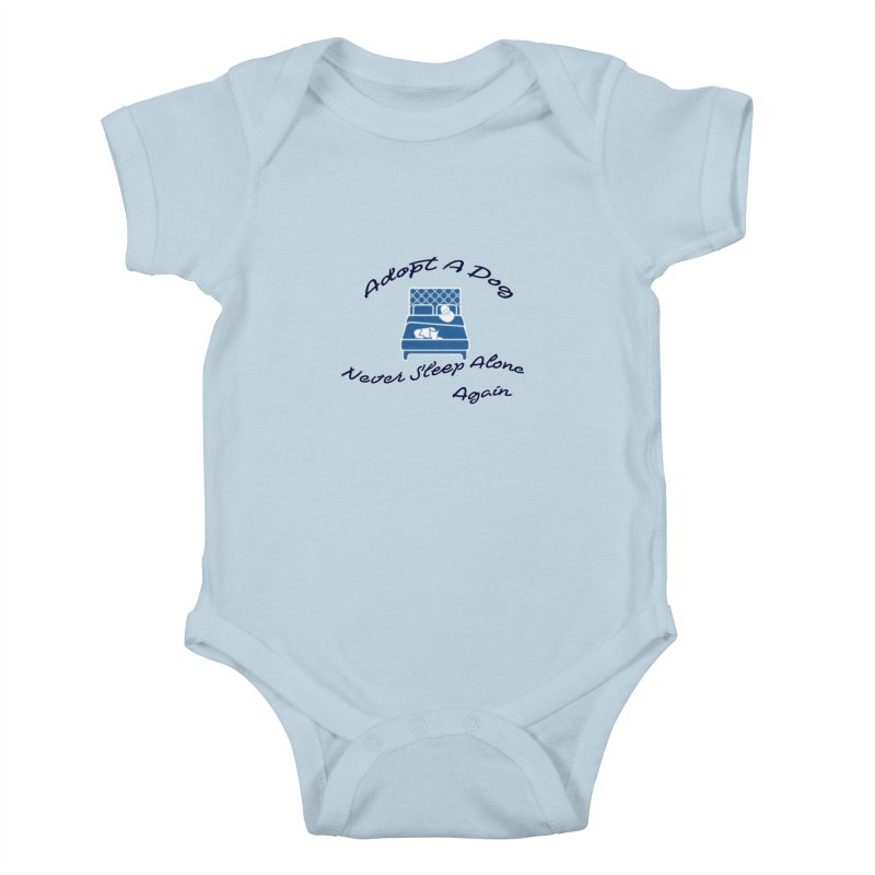 Never sleep alone Kids Baby Bodysuit by The Gear Shop
