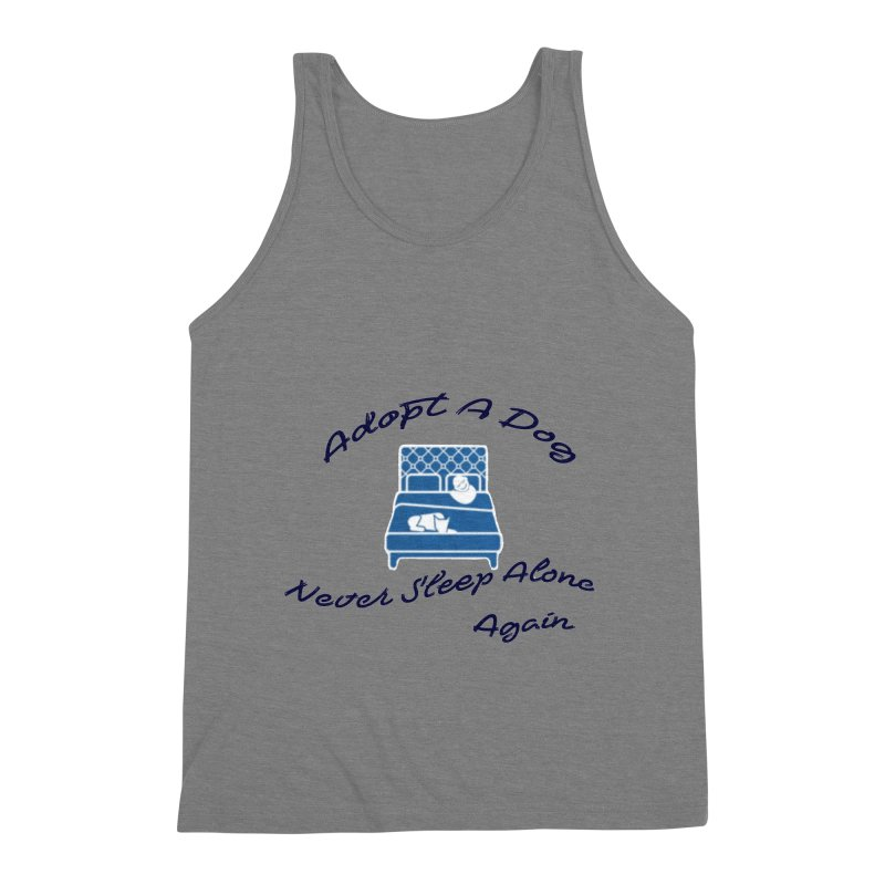 Never sleep alone Men's Triblend Tank by The Gear Shop