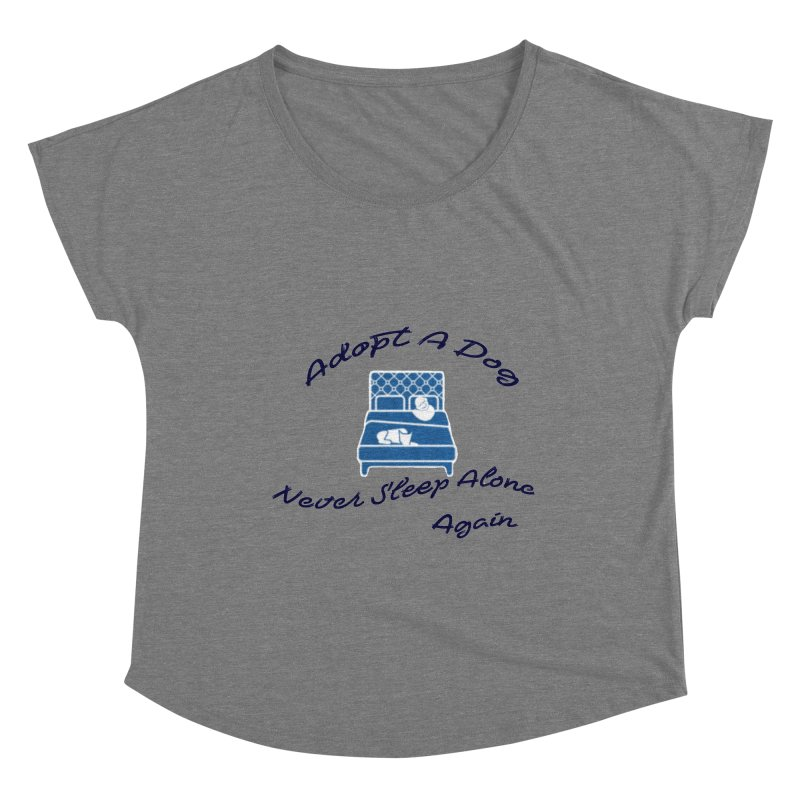 Never sleep alone Women's Scoop Neck by The Gear Shoppe