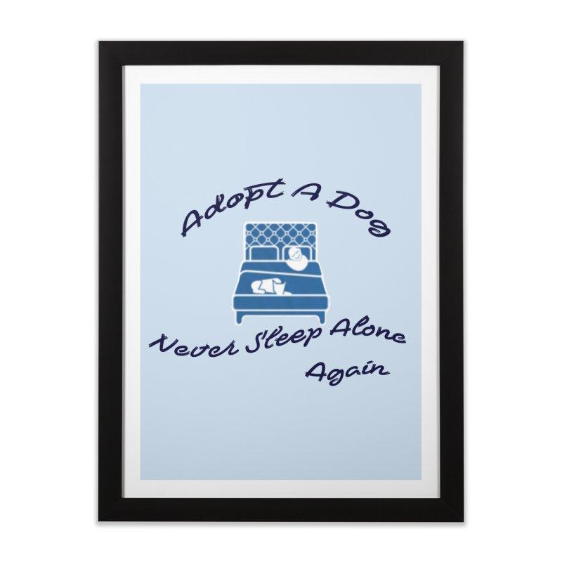 Never sleep alone Home Framed Fine Art Print by The Gear Shop