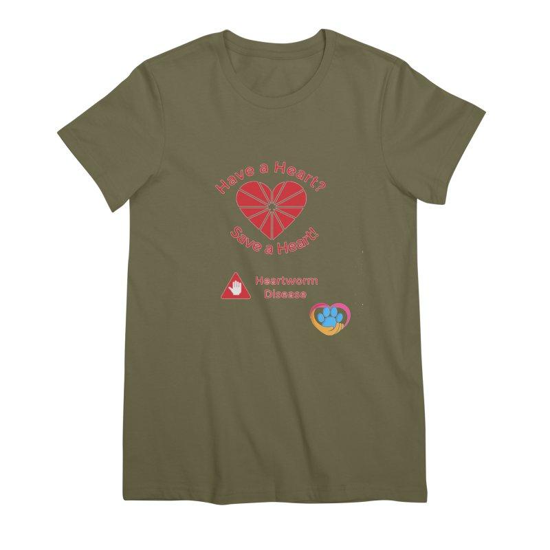 Have a Heart? Women's Premium T-Shirt by The Gear Shop
