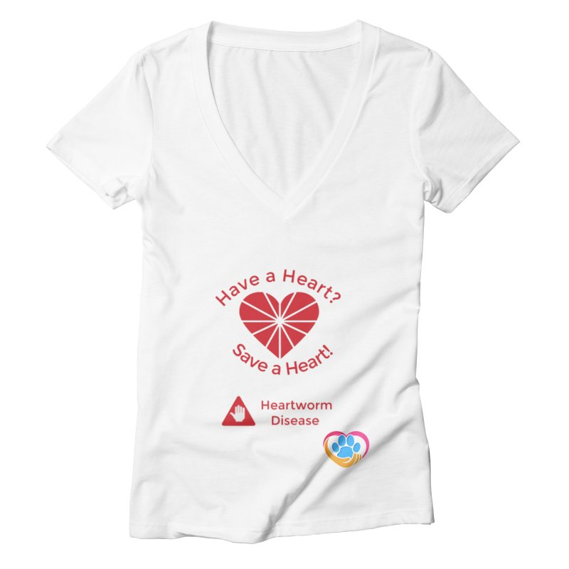 Have a Heart? Women's Deep V-Neck V-Neck by The Gear Shop