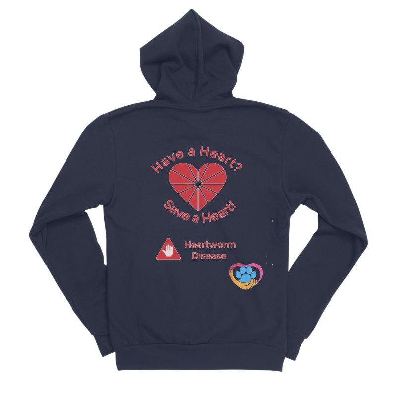 Have a Heart? Women's Sponge Fleece Zip-Up Hoody by The Gear Shop
