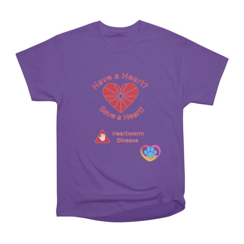 Have a Heart? Women's Heavyweight Unisex T-Shirt by The Gear Shop