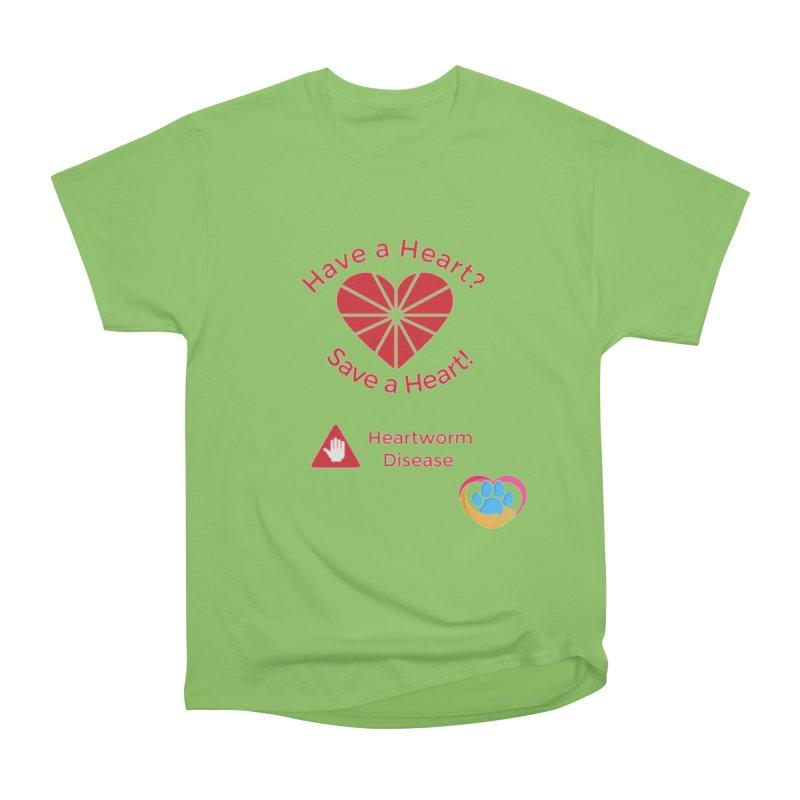 Have a Heart? Men's Heavyweight T-Shirt by The Gear Shop