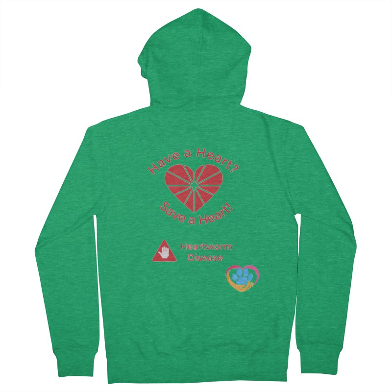 Have a Heart? Women's French Terry Zip-Up Hoody by The Gear Shop
