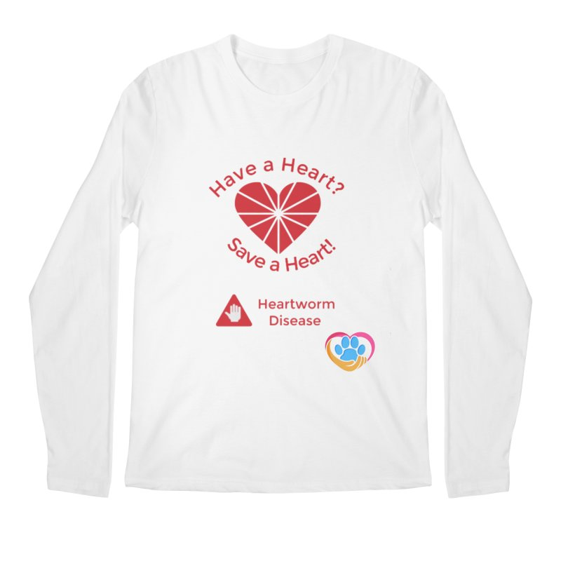 Have a Heart? Men's Regular Longsleeve T-Shirt by The Gear Shop