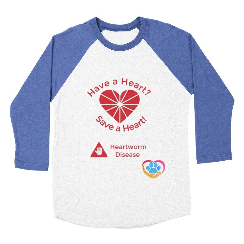 Have a Heart? Women's Baseball Triblend Longsleeve T-Shirt by The Gear Shop